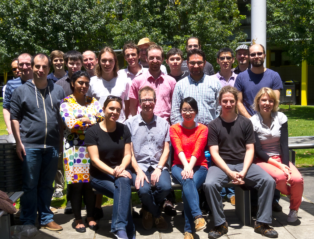 MArVL and Optimisation Group photo at the 2013 End-of-year BBQ.